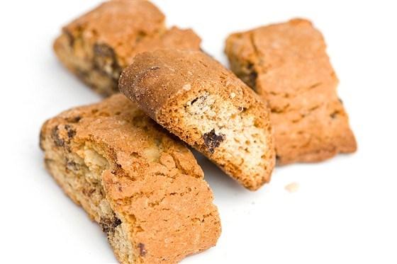 Миндальное печенье с коричневым сахаром