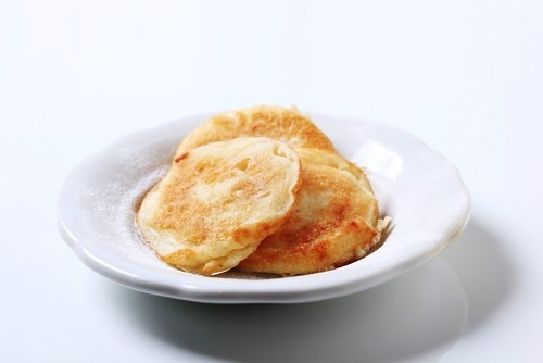 Оладьи из бобовой пасты с корицей по-японски
