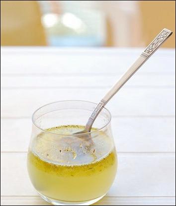 Лимонно-мятный винегрет