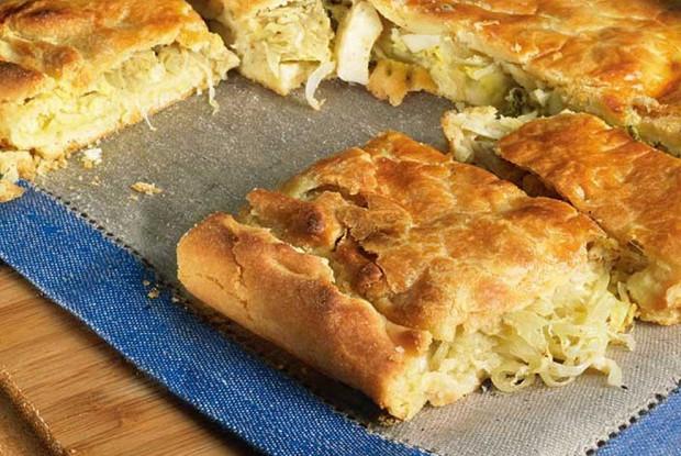Тифлисский луковый пирог