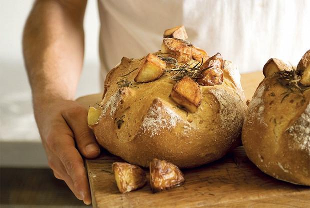 Дрожжевой картофельный хлеб