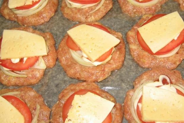 Котлеты из фарша с сыром рецепт