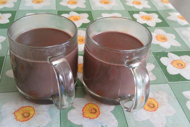 Горячий густой шоколад