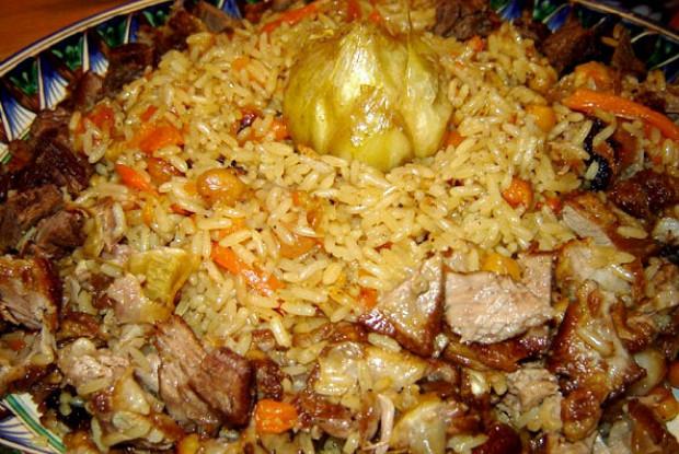 узбекский плов из баранины рецепт с фото