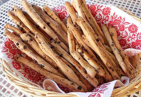 Гриссини с шоколадом (Grissini al cioccolato )