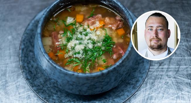 Суп из говяжьих хвостов