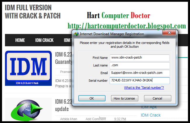 IDM 630 Serial Key Crack Patch Full Free Download