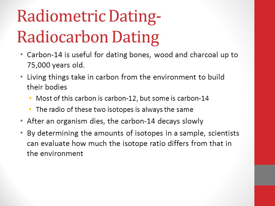 Absolute dating worksheets