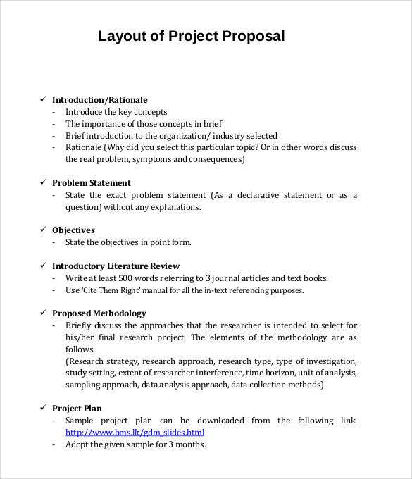 Concept paper for research proposal