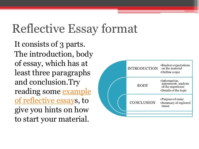 Write my examples of a reflective essay