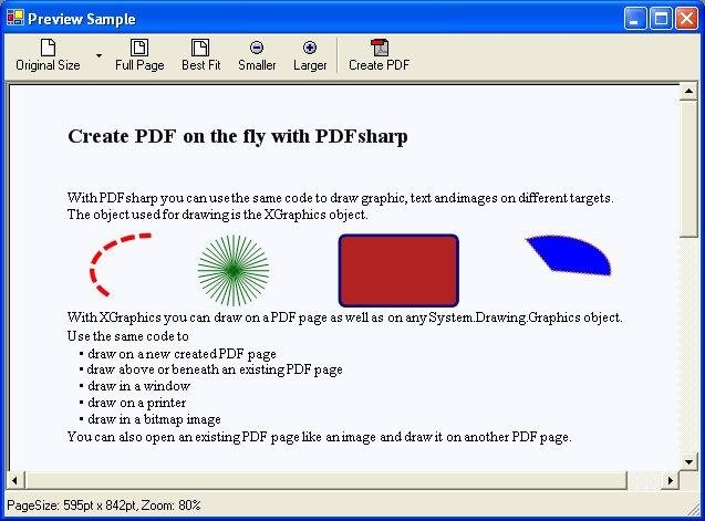 Pdfsharp system drawing graphics