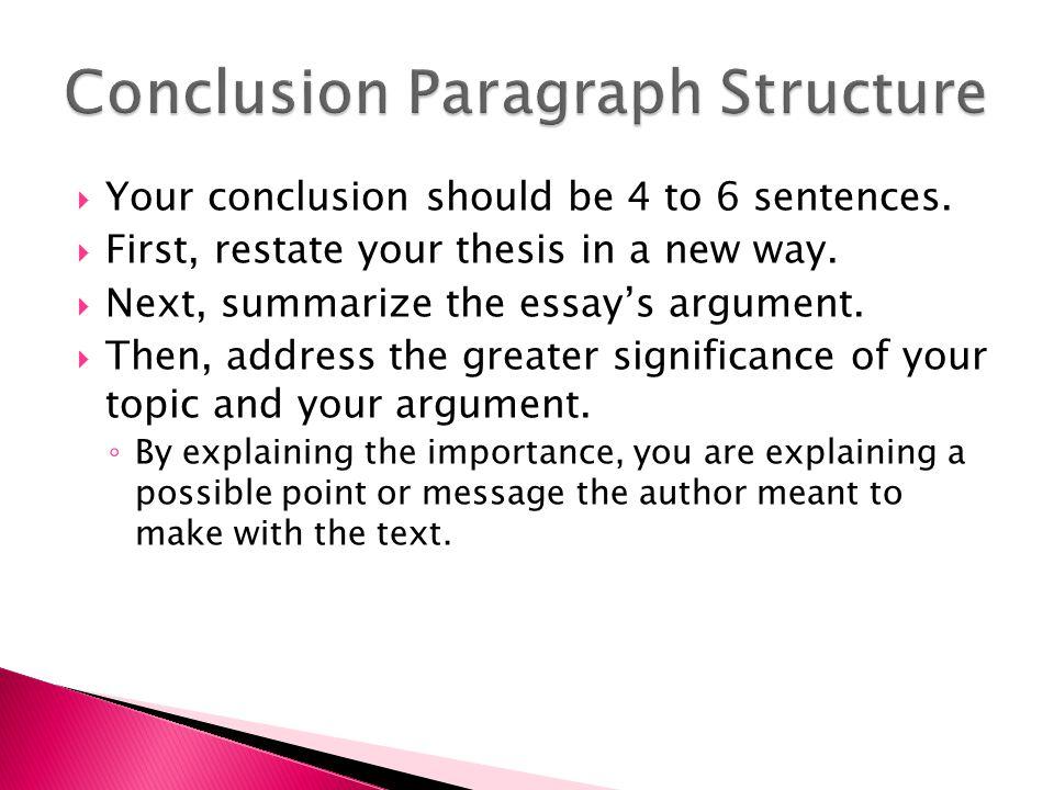 Conclusion : Dfinition simple et facile du dictionnaire