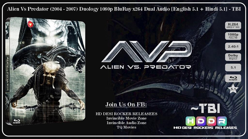 AVP: Alien vs Predator (2004) Hindi Dubbed BRRip Full