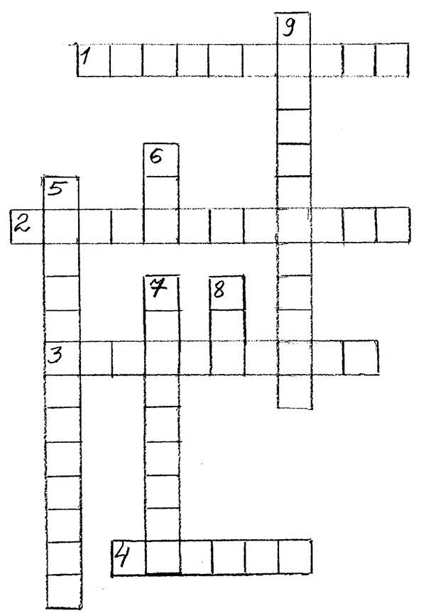 Кроссворд 6 класс десятичные дроби с ответами по математике
