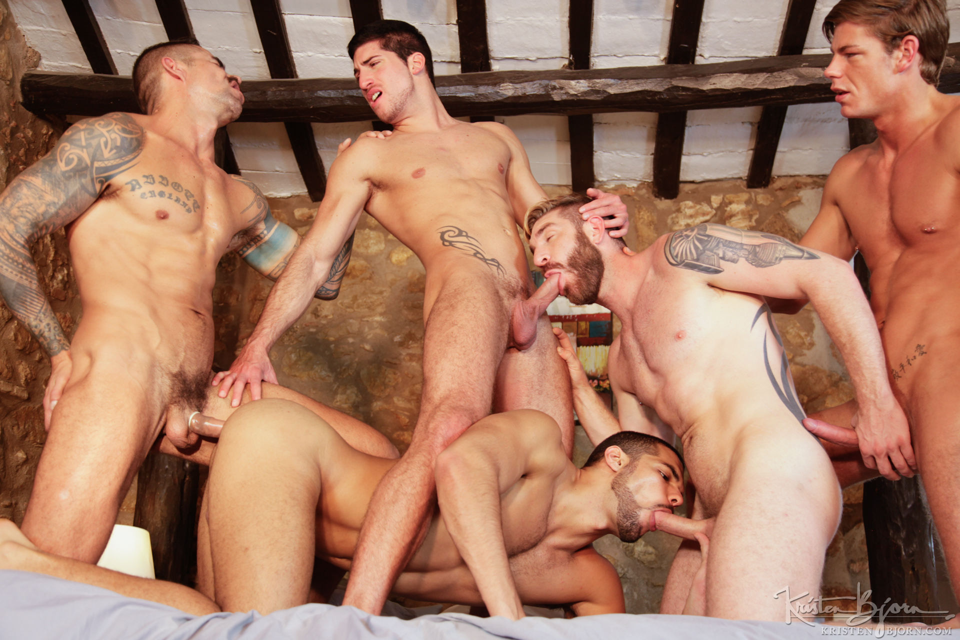Gay men group sex pictures