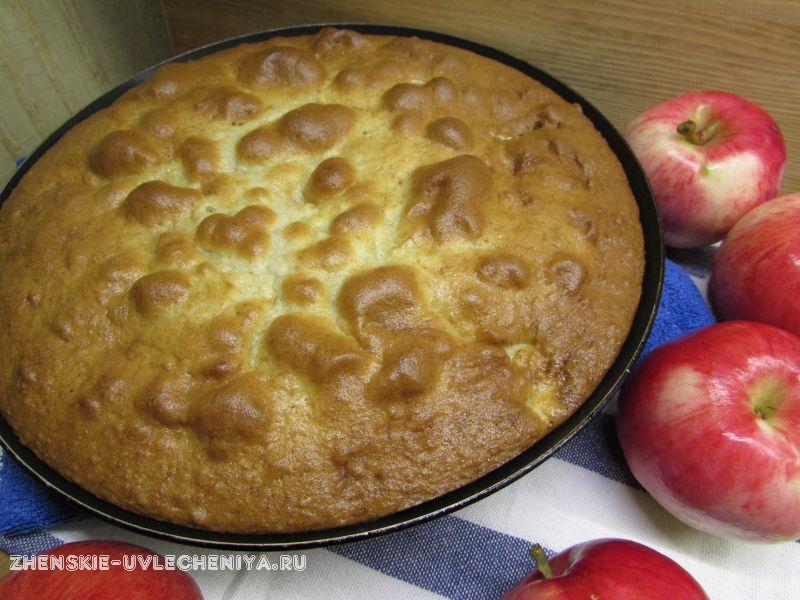 заливной пирог с бананами рецепт с фото