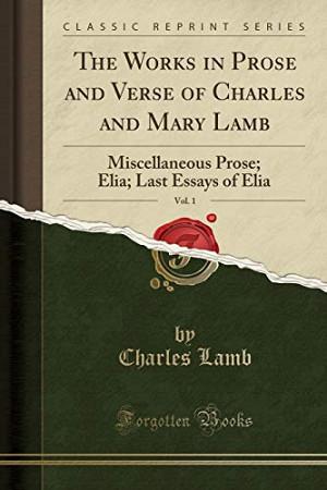Author of essays of elia