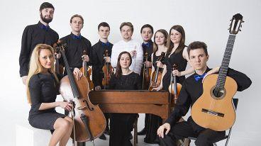 Imperialis Orchestra. Дирижер и солист Артемий Меньщиков (вокал)