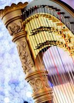 Две арфы и орган