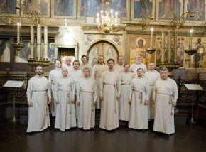 Патриарший хор Свято-Данилова монастыря. Регент Георгий Сафонов