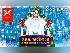 Дед Мороз и волшебная фабрика