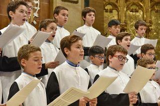X Московский Рождественский фестиваль духовной музыки: Хор мальчиков монастыря Монсеррат (Испания)